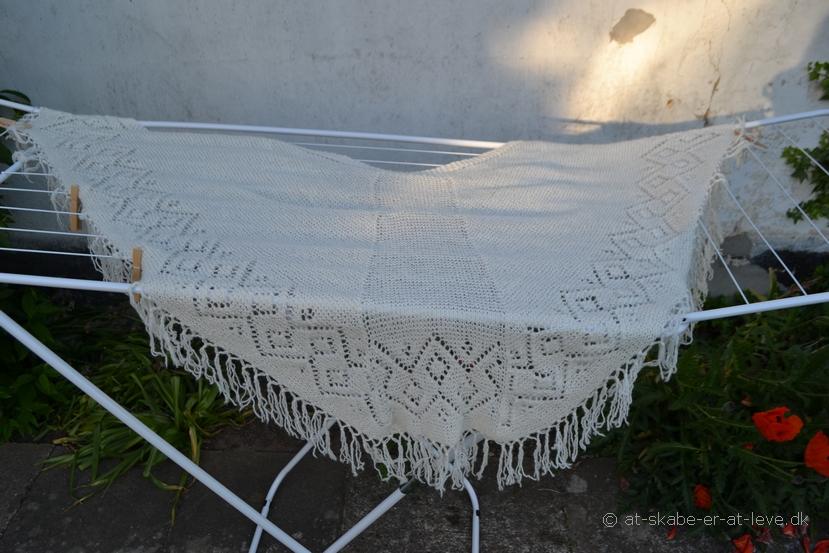 Færøsjal-vasket