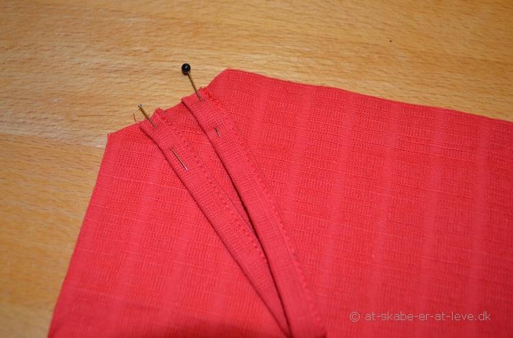 Grydelap-strop monteres