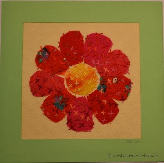 Lykønskningskort - blomst