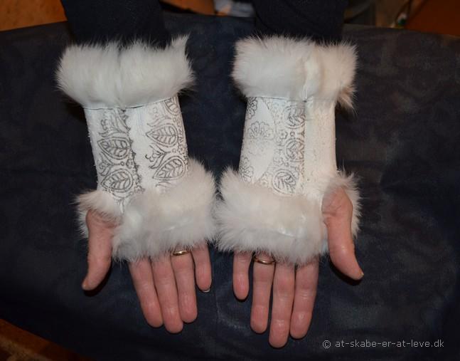 Pulsvarmere kanin håndflade