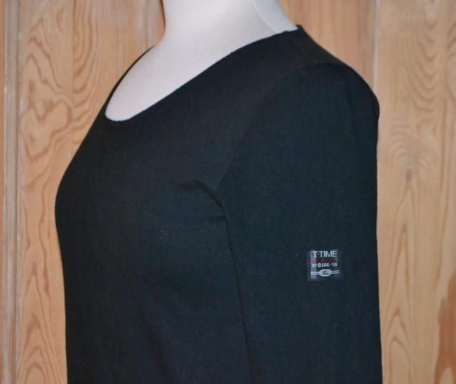 T-shirt med ærmemærke