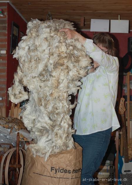 en sæk uld