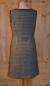 ternet ærmeløs kjole-bag