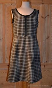 ternet ærmeløs kjole-for